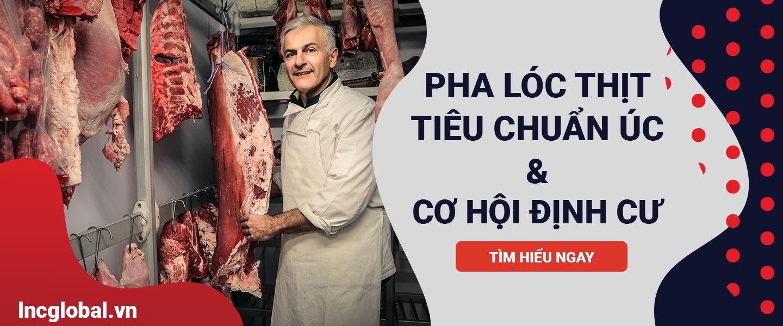 đào tạo pha lóc thịt chế biến thịt định cư canada lnc global