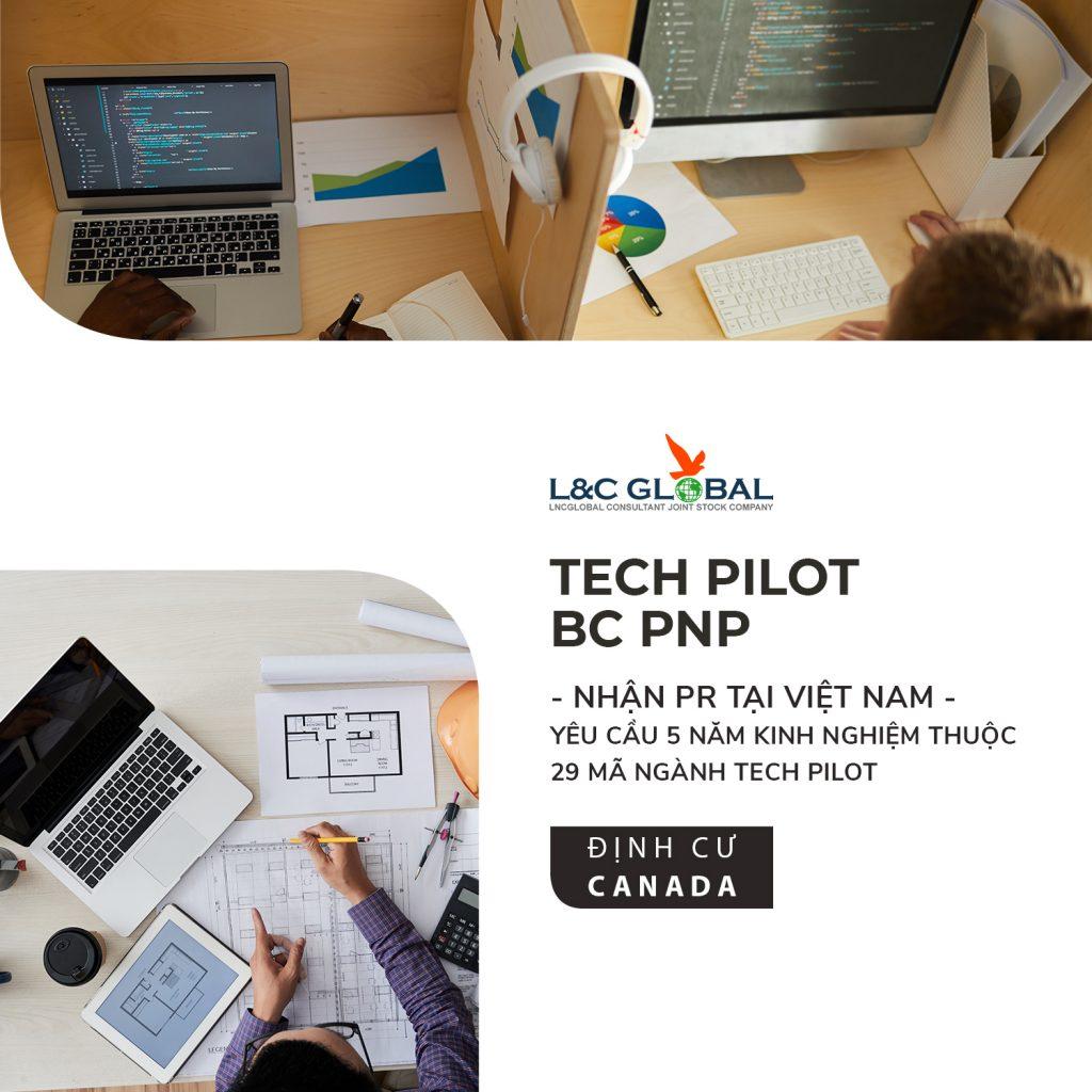 việc làm lao động định cư canada lnc global tech pilot