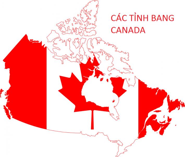 Các tỉnh bang Canada tình hình nhập cư