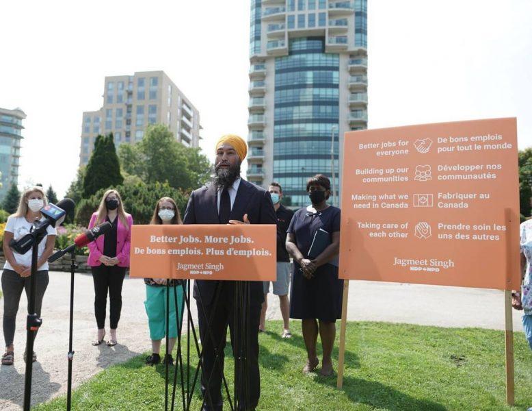 Lãnh đạo đảng Dân chủ mới Jagmeet Singh và cuộc bầu cử Canada năm 2021 sớm