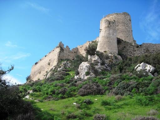 du lịch síp - lâu đài kantara