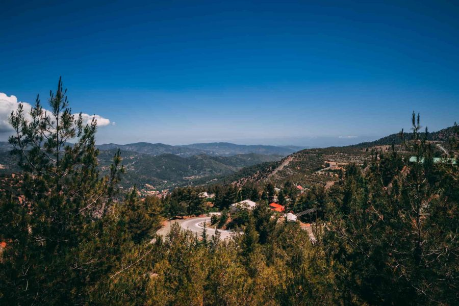 du lịch Síp - Dãy núi đầy nắng Troodos