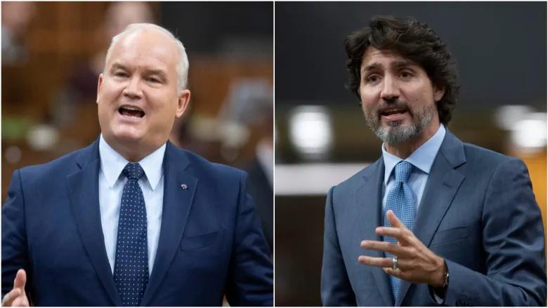 Bầu cử Canada năm 2021 - Đảng Tự do và đảng Bảo thủ đã phát động kế hoạch tiêm chủng bắt buộc cho nhân viên liên bang