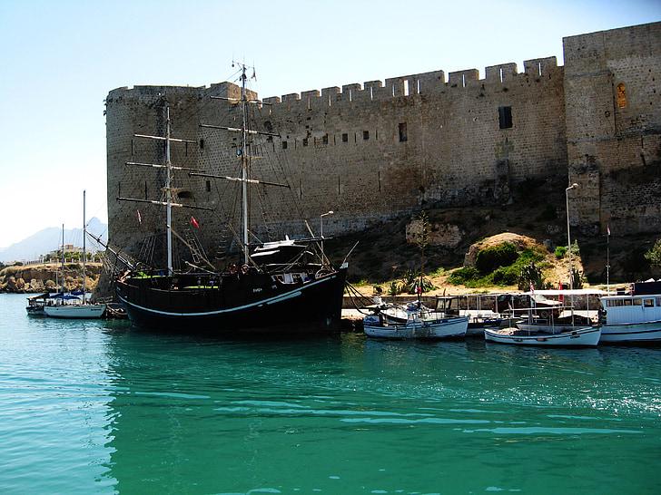 Du lịch Síp - Lâu đài Kyrenia