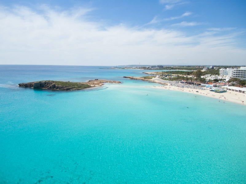 Famagusta, bãi biển Nissi