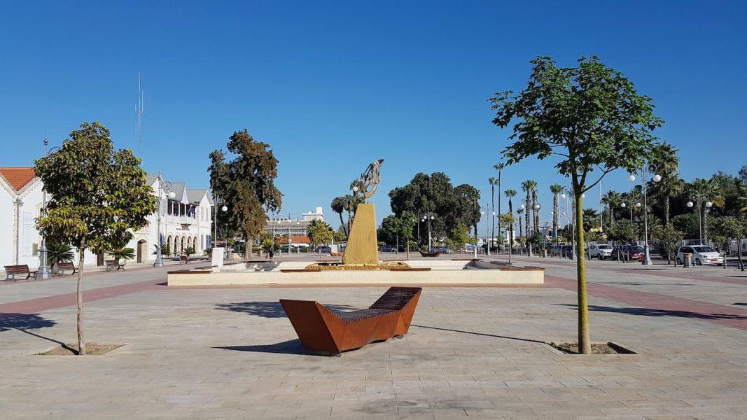 Trung tâm thành phố Larnaca ở Síp