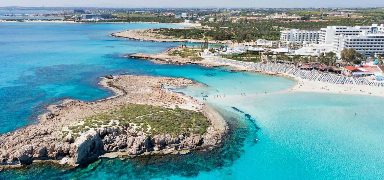 du lịch síp - bãi biển tại Síp - Biển nissi