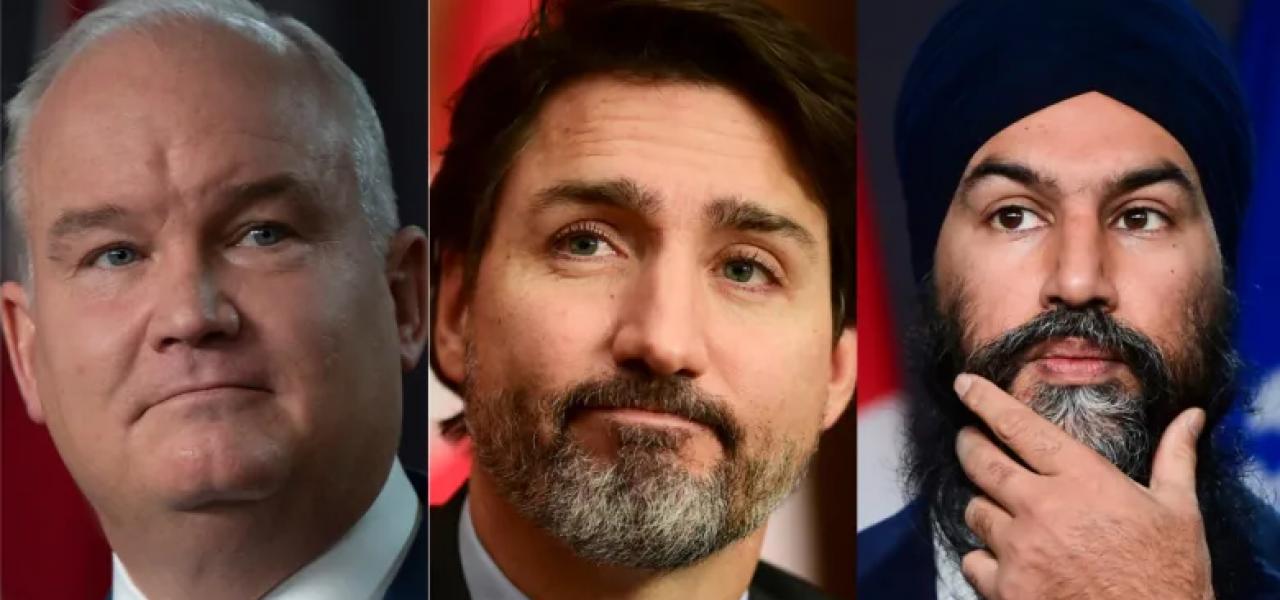 3 đảng chính trị tại Canada đã có động thái gì trong cuộc bầu cử Canada năm 2021 sớm