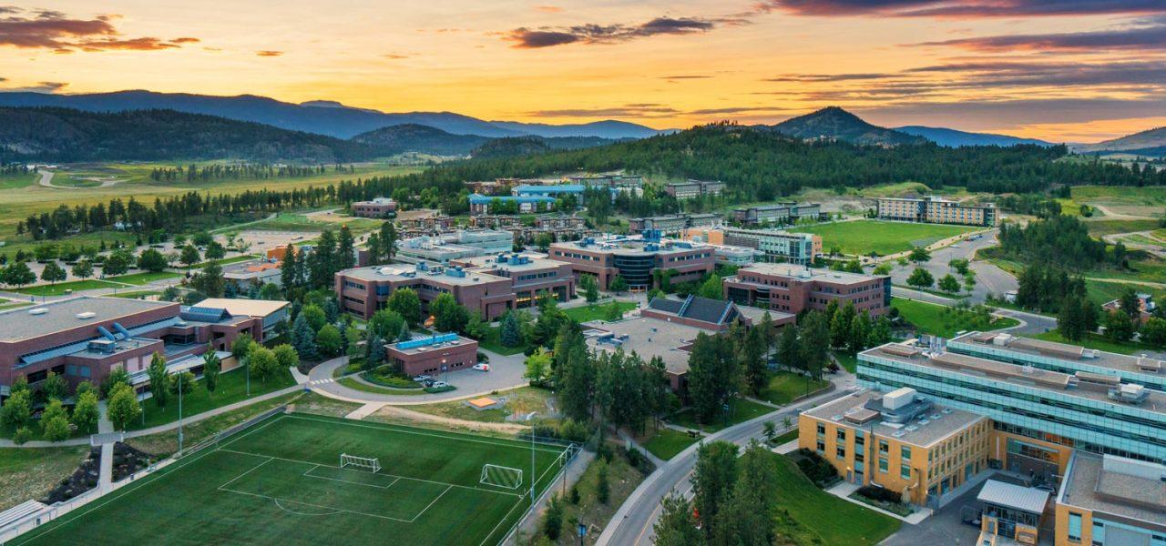 khuôn viên đại học British Columbia tại Okanagan